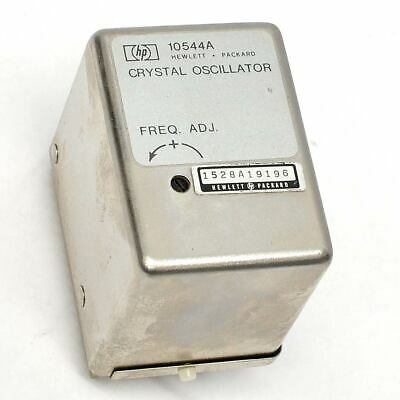 Hewlett Packard 10544a 10mhz Frequency Precision Quartz Crystal Oscillator Ocxo