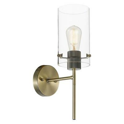 Globe Electric 65958 Wall Sconce, 0, Antique Brass ()