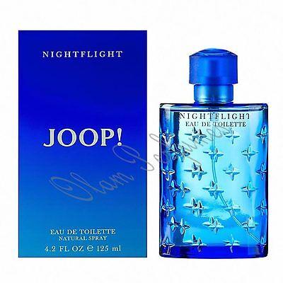 Nightflight 4.2 Ounce Spray - Joop NightFlight For Men Eau de Toilette Spray 4.2oz 125ml * New in Box *