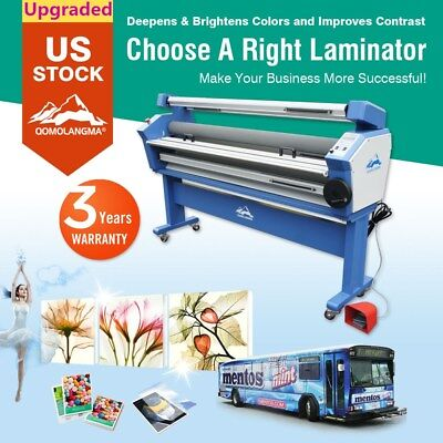 63 Full-auto Wide Format Cold Laminator Laminating Machine With Heat Assisted