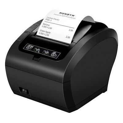 Us Black 318 80mm Usb Ethernet Receipt Pos Thermal Printer With Auto Cutter