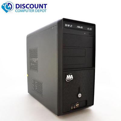 Fast Custom Desktop Computer Windows 10 PC Tower Dual Core 2.13GHz 4GB 80GB DVD