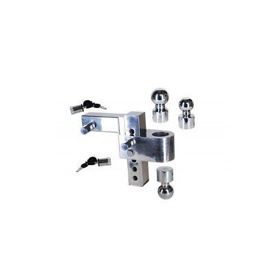 Uriah Alumatow Adjustable Aluminum Tow Truck Car Trailer Hitch Mount 6 Inch Drop