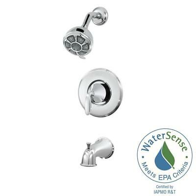 Pfister Pasadena Single-Handle 3-Spray Tub and Shower Faucet in Polished Chrome