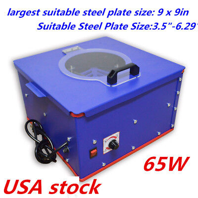 Usa Pad Printing Electric Emulsion Coating Machine For Steel Plate 3.5-6.29