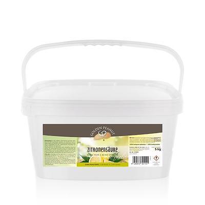 Zitronensäure E 330 5 kg Lebensmittelqualität Entkalker Granulat