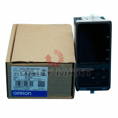 Omron E5ec-rx2asm-800 Temperature Controller 100-240vac Plc Module New
