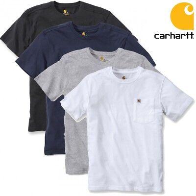 Carhartt Pocket (Carhartt Herren T-Shirt Maddock Pocket Work Wear Shirt Men S M L XL XXL NEU)
