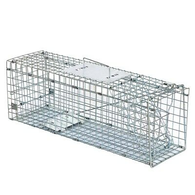 Live Animal Trap Extra Large Rodent Cage Garden Rabbit Raccoon Cat 24 X8 X 7 5