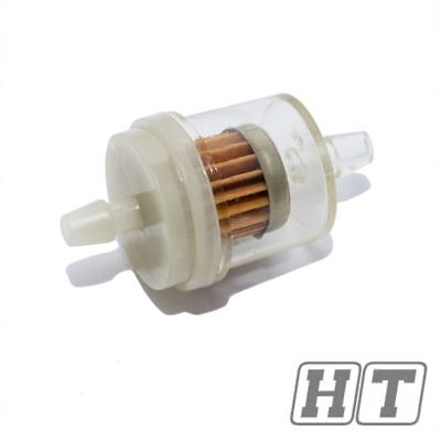 FUEL FILTER  FUEL FILTER UNIVERSAL 6 MM FOR SCOOTER MOTORCYCLE
