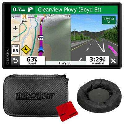 "Garmin DriveSmart 55 & Traffic 5.5"" GPS Navigator w/ Case & Dash Support Bundle"