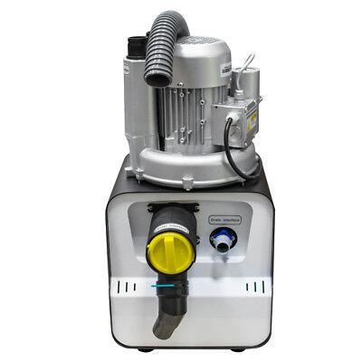 750w Dental Clinic Lab Suction Vacuum Machine Pump 2800rmin For 2 Dental Chair