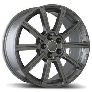 "18"" Wheel Set Mercedes ML350 Rim Mag Roue Hiver 5x112 Mags Replika R193 Gunmetal 18"