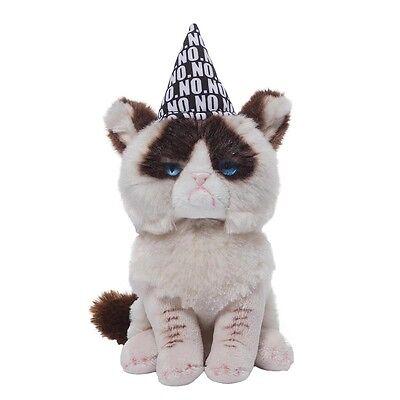 Grumpy Cat Birthday Beanbag Kuschelkatze Stoff Katze Gund Plüsch