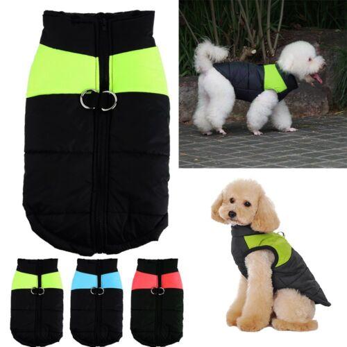【DE】 Hundemantel Hundejacke Hundekleidung Wintermantel Wasserdicht Vest Gr.M-5XL