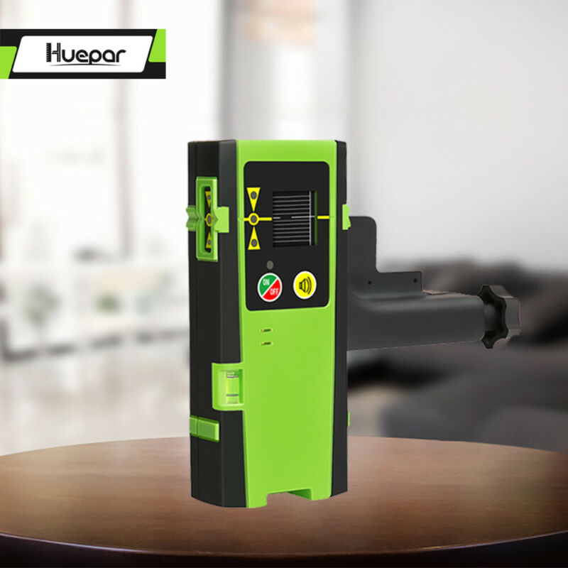 Red Green Laser Receiver Outdoor Mode Laser Detector Pulsing Detect Digital LCD