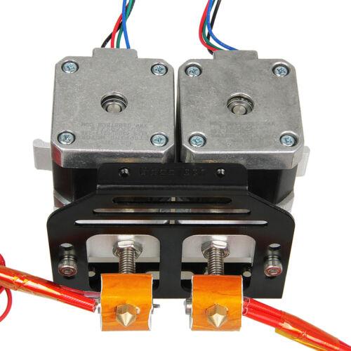 New Spare All Metal MK8 extruder holder for Dual MK8 extruder Prusa 3D Printer