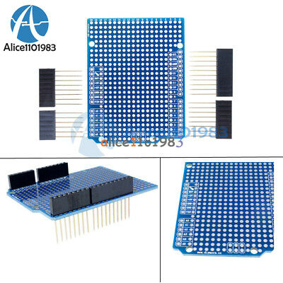 Prototype Pcb Protoshield Diy For Arduino Uno R3 Shield Board Fr-4 2.54mm Pitch