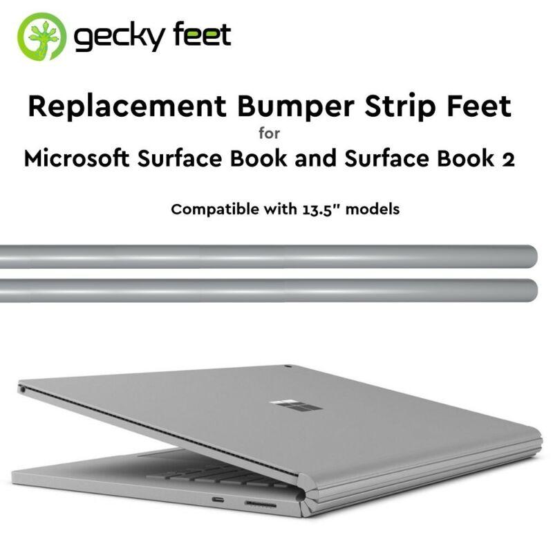 """Microsoft Surface Book 13.5"""" Replacement Bumper Strip Gecky Feet - Original Gray"""