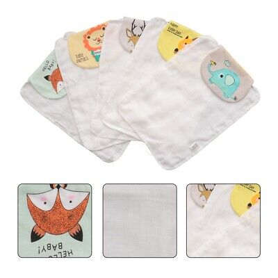 5pcs Sweat Absorbent Towel Baby Sweat Towel Baby Towel for Baby Infant