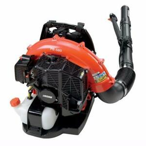 END OF SEASON SALE New Echo 580T 580 T Backpack Leaf Blower Landscape Handheld Back Pack Lawn Care Stihl Billy Goat