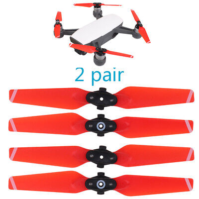 4pcs Red Propeller Quick Release Foldable Snap-on Accessory For DJI SPARK 4730F