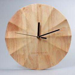 Modern Wooden Clock for wall