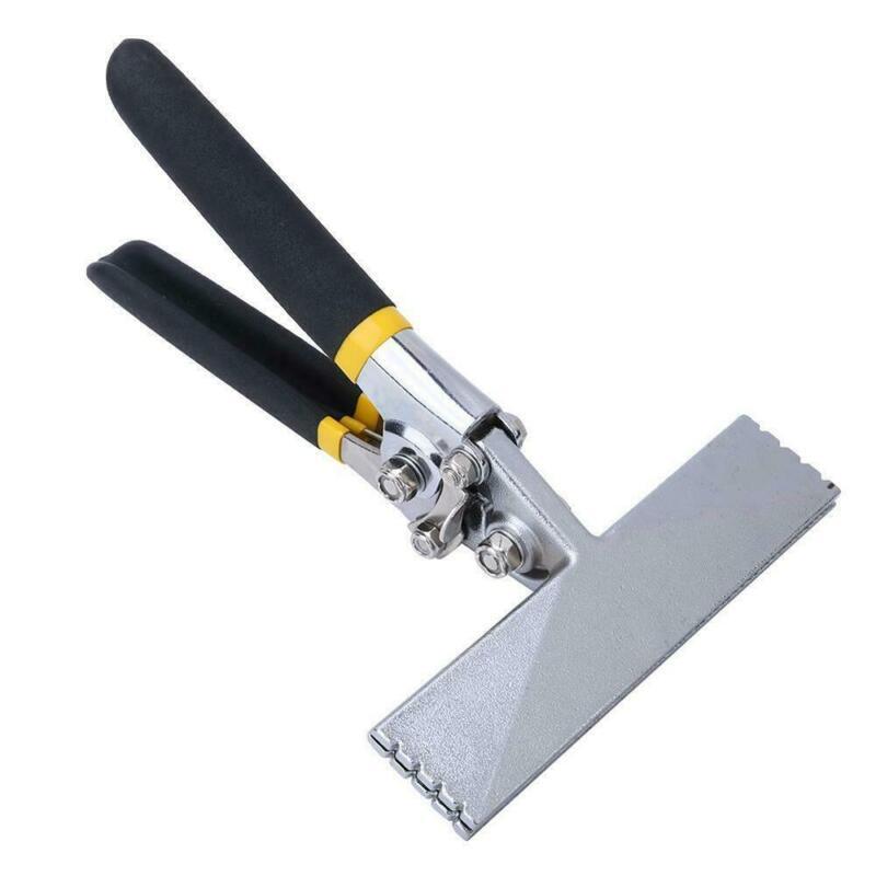 150mm Jaw Straight Sheet Metal Seamer Flatten Bend Seaming Pliers Hand Tool