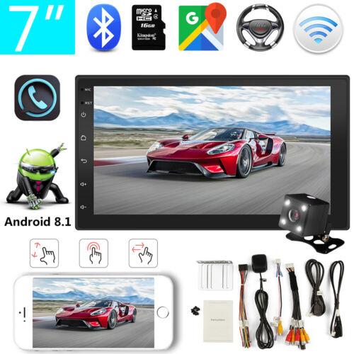 "Android 8.1 Autoradio 7"" GPS Navigation Bluetooth GPS 2 DIN USB FM MP5 Player"