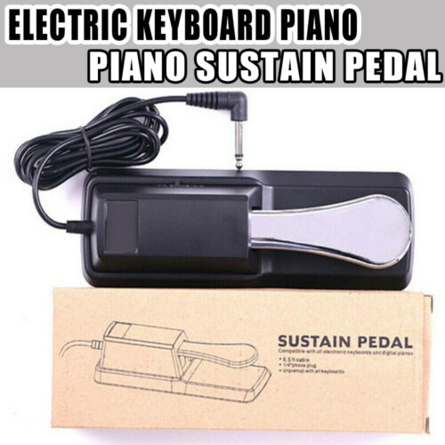 Electric Keyboard Piano Foot Switch Pedal Damper Sustain For