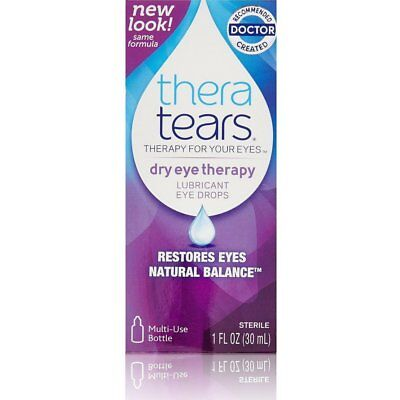 TheraTears Lubricant Eye Drops 1.0 oz. (Quantity of 3)