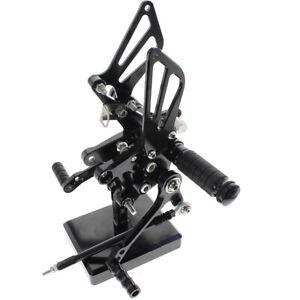 For Suzuki SV650/SV650S SV1000/S 98-14 Black CNC Rearsets Footpeg Footrest Pedal