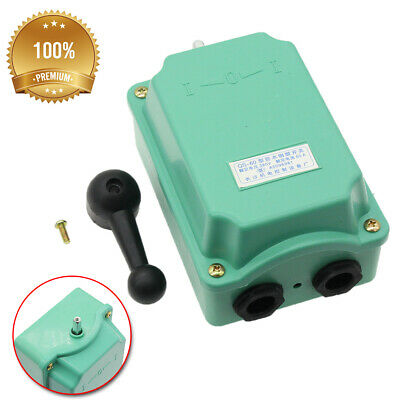 1x 60a Drum Switch Forwardoffreverse Motor Control Rainproof Reversing Plastic