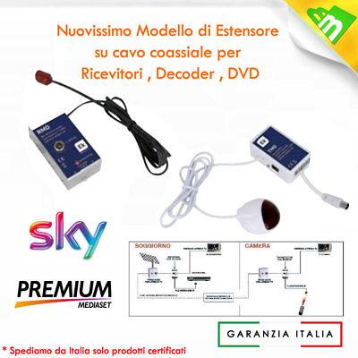 RIPETITORE DI TELECOMANDO SKY RICEVITORI DVD VIA CAVO COASSIALE