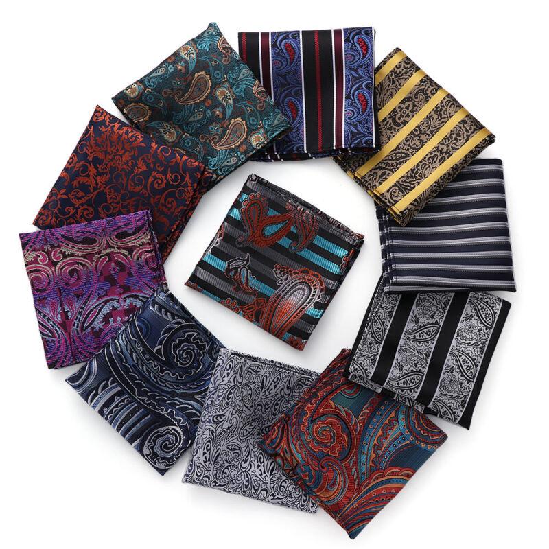 Party Suit Accessorie Men/'s Pocket Square Hanky Handkerchief Pocket Towel