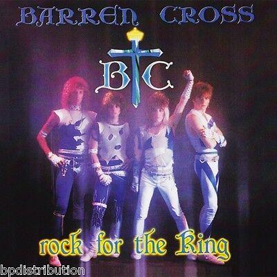 BARREN CROSS - ROCK FOR THE KING (*NEW-CD, 2014) Remastered Christian Metal!