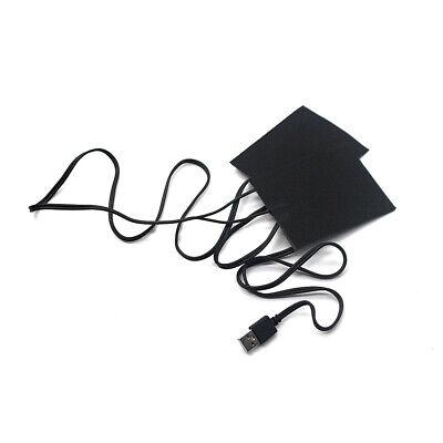 USB Elektrische Kohlefaser Heizfolie 3 Getriebe Temperaturregelung Schalter B8Y2 Folie Usb