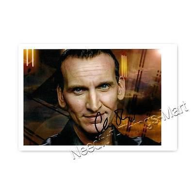 Christopher Eccleston alias Doctor Who (2005) -  Autogrammfotokarte [AK3]