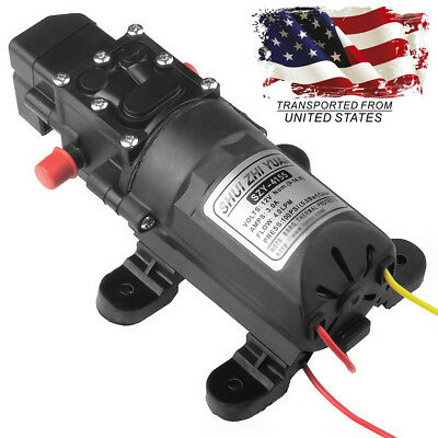 Dc 12v Electric Diaphragm Water Pump 100psi 4lmin For Garden Car Marine Boat