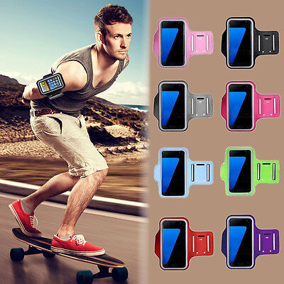 Samsung Galaxy S7 Edge/S8/S9/Plus Running Sport Jogging GYM Armband Cover Holder