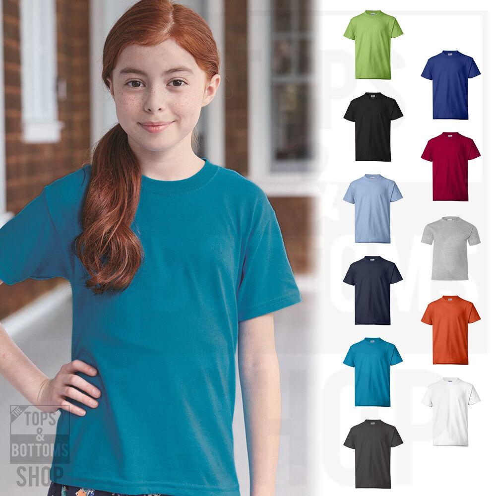Boy/'s XS-XL Sweatshirt HANES EcoSmart Fleece Premium Long Sleeve Crew Shirt