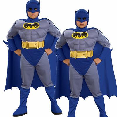 Kinder Batman Brave And The Bold Muskel Brust Kostüm Kinder Alter 3-10