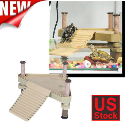 Reptile Turtle Frog Pier Floating Basking Platform Aquarium Tank Accessory - Reptile Decor