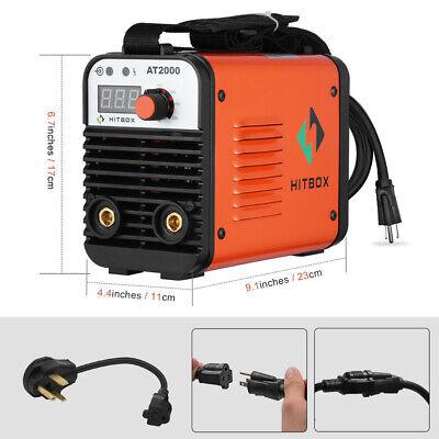 Arc Welder At2000 Inverter Dual Volt 110220v Mma Arc Stick Welding Machine
