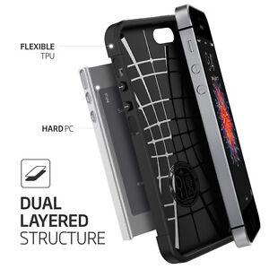 Slim-Armor-2-Piece-Hybrid-Shock-Proof-Case-Cover-for-Apple-iPhone-4s-5c-6-6plus