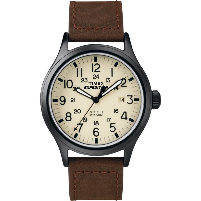 Timex Expedition® Scout Metal Watch - Brown  T49963JV