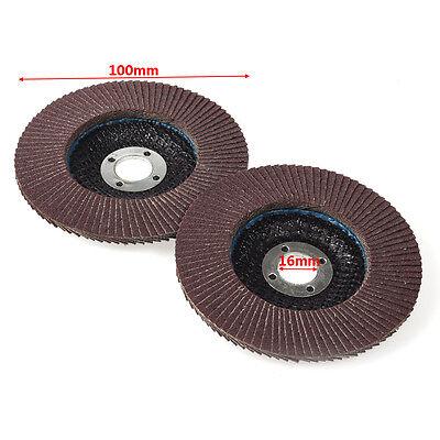 4 Inch Flap Sanding Disc Angle Grinder Discs Metal Grinding Wheel 120 Grit 10pcs