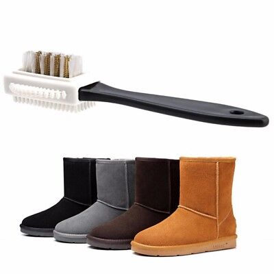 1X Eraser Cleaning Brush 3 Side Nubuck Boot Shoes Cleaner Suede Cleaner Tool
