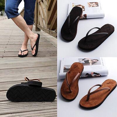 Man Flip-flops Slippers Beach Sandals Summer Indoor