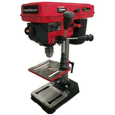 """PowerSmart PS308 5-Speed Drill Press with Laser Guide, 8"""", R"""